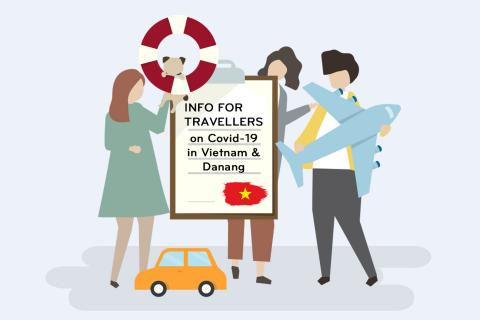 Info for travellers on Covid-19 in Vietnam