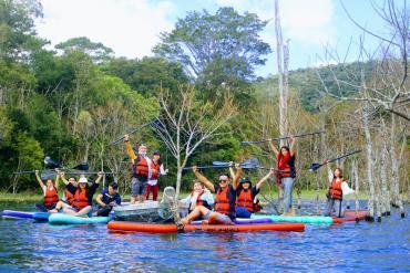 Trekking and Kayaking in Da Lat